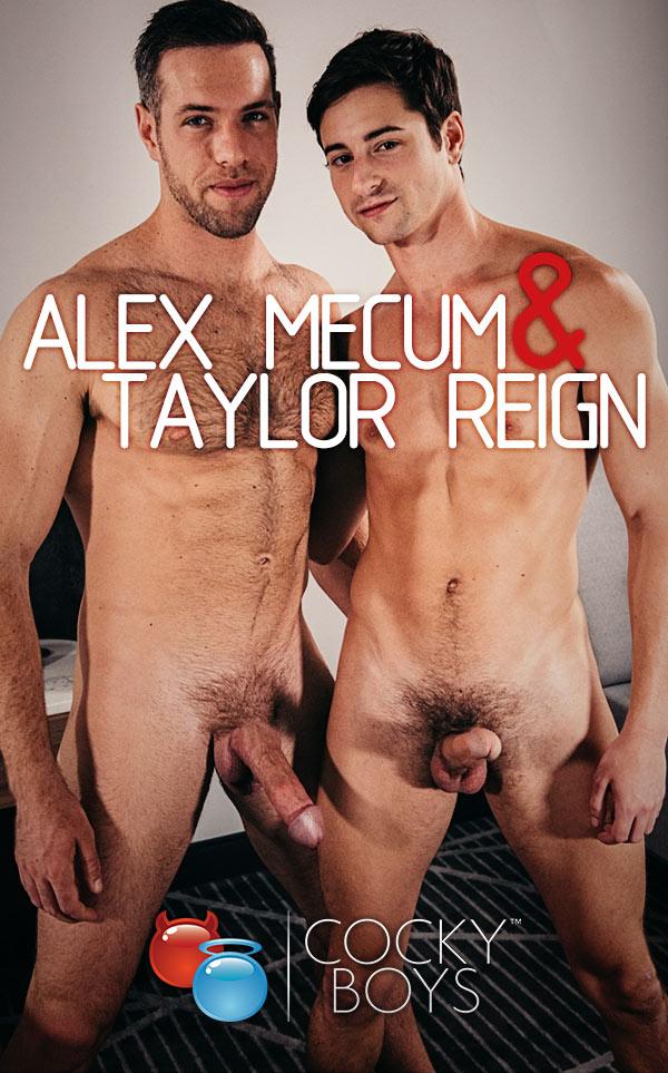 Alex Mecum Fucks Taylor Reign at CockyBoys.com