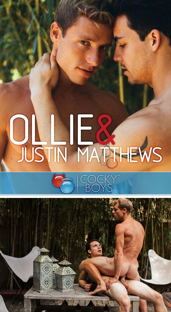 Ollie Fucks Justin Matthews at CockyBoys.com