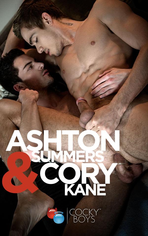 Ashton Summers & Cory Kane Flip-Fuck at CockyBoys.com