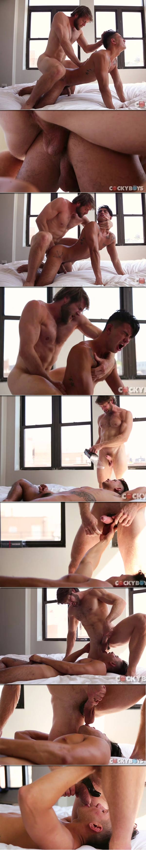 Colby Keller Hammers Ricky Roman at CockyBoys.com