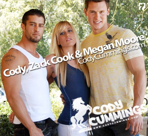 Cody, Zack Cook & Megan Moore at CodyCummings.com