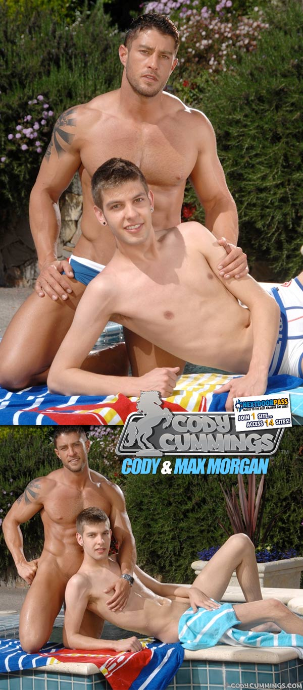 Poolside Pics (Max Morgan & Cody) at CodyCummings.com