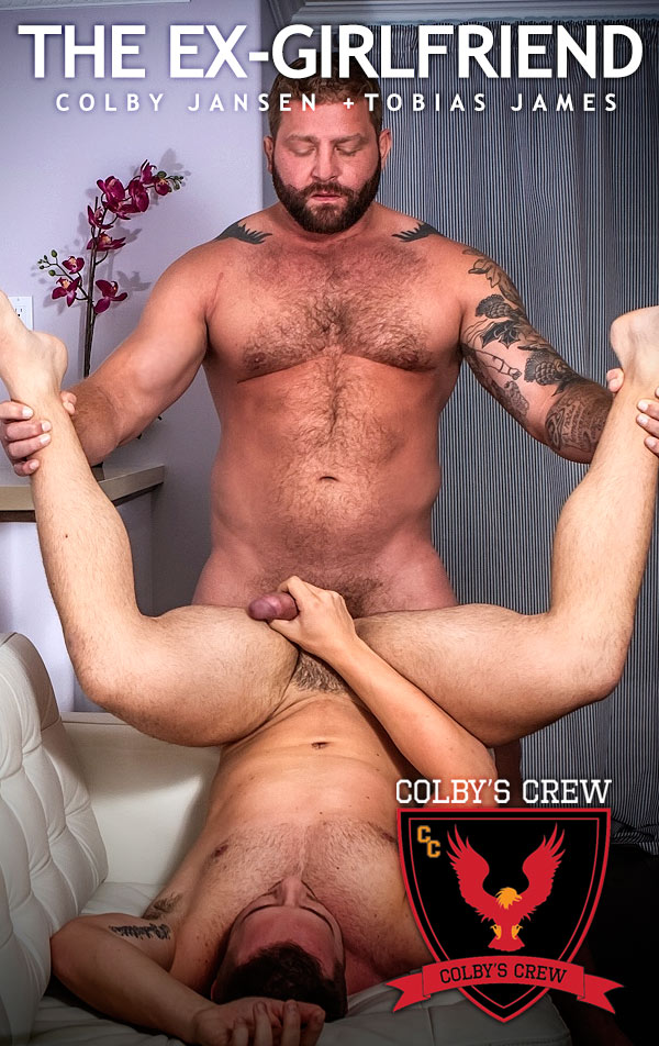 The Ex-Girlfriend (Colby Jansen Fucks Tobias James) at Colby's Crew
