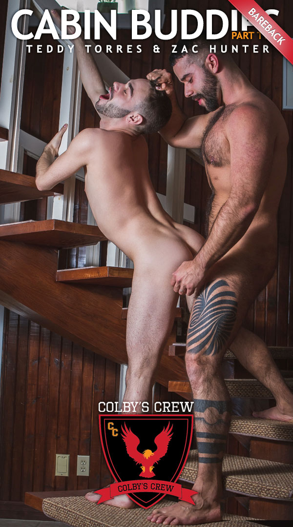 Cabin Buddies (Teddy Torres Fucks Zac Hunter) (Part 2) at Colby's Crew