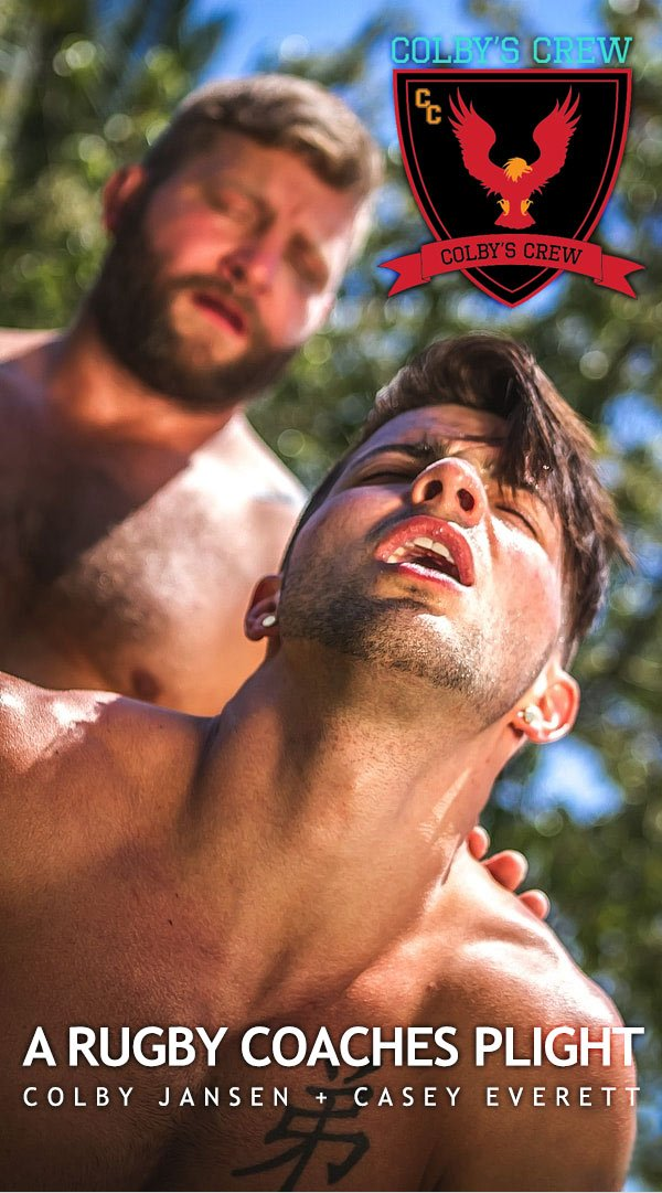 'A Rugby Coaches Plight (Colby Jansen Fucks Casey Everett) at Colby's Crew