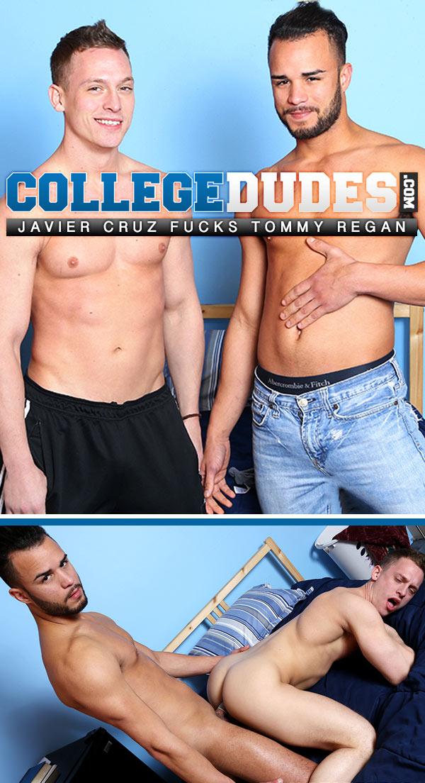 Javier Cruz Fucks Tommy Regan at CollegeDudes.com