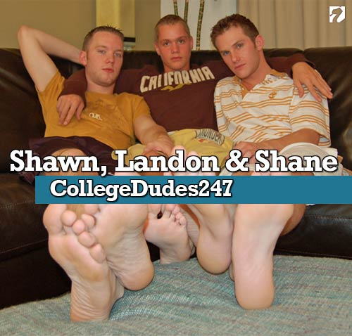 Shawn, Landon & Shane at CollegeDudes247