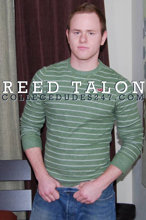 Reed Talon Busts A Nut at CollegeDudes247
