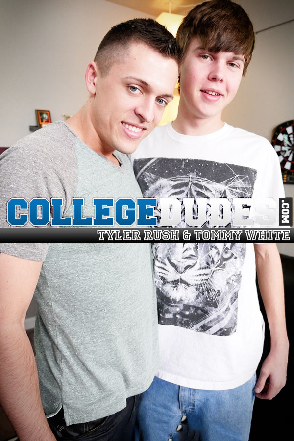 Tyler Rush & Tommy White (Flip-Fuck) at CollegeDudes.com