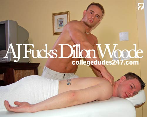 Aaron James Fucks Dillon Woode at CollegeDudes247