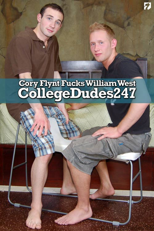Cory Flynt Fucks William West at CollegeDudes247