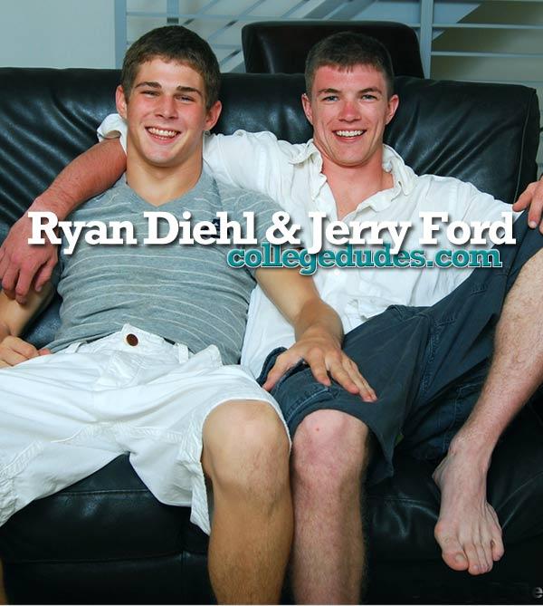 Jerry Ford Fucks Ryan Diehl at CollegeDudes.com