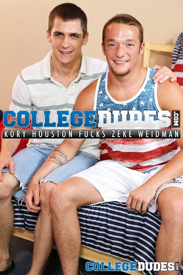 Kory Houston Fucks Zeke Weidman at CollegeDudes.com