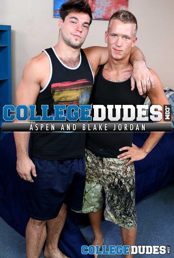 Aspen & Blake Jordan at CollegeDudes.com