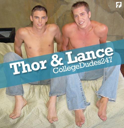 Lance & Thor Martin at CollegeDudes247