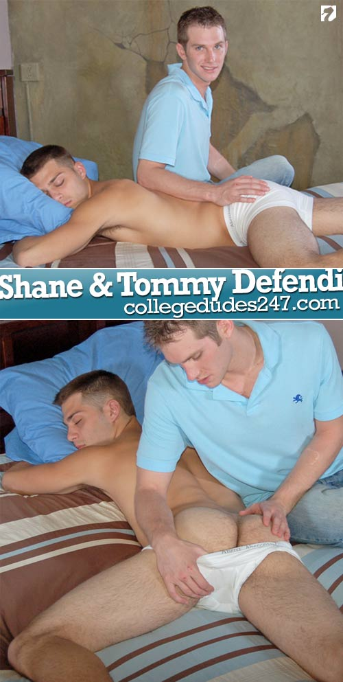 Shane Fucks Tommy Defindi at CollegeDudes247