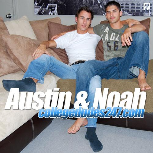 Austin Gama & Noah River at CollegeDudes247