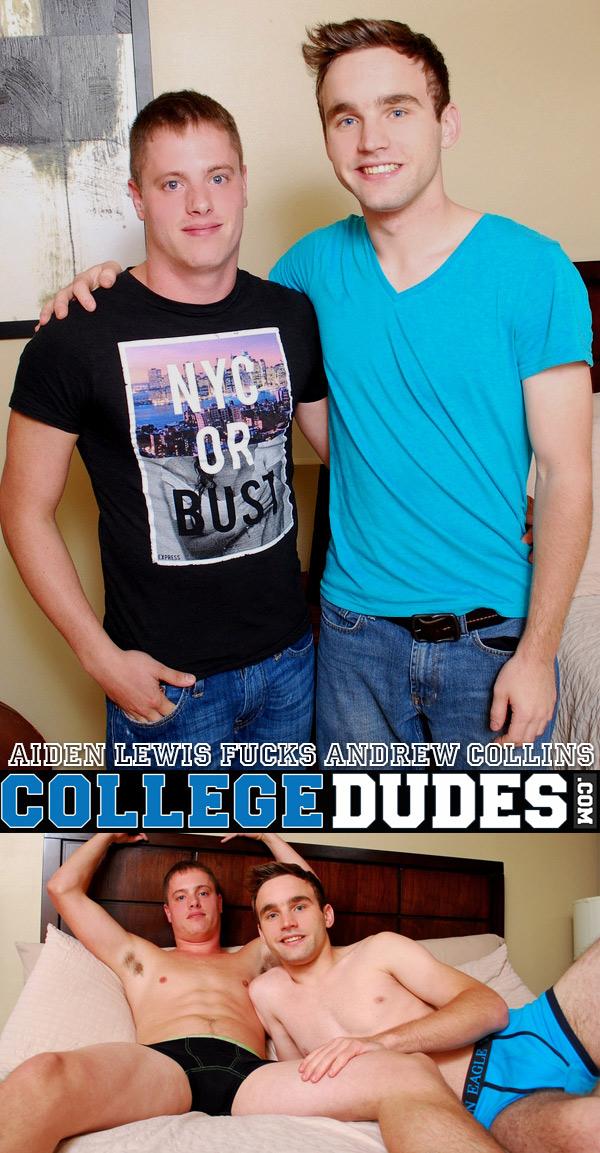 Aiden Lewis Fucks Andrew Collins at CollegeDudes.com