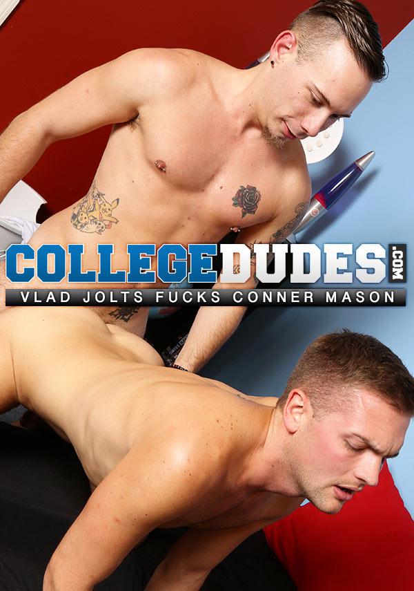 Vlad Jolts Fucks Conner Mason at CollegeDudes.com