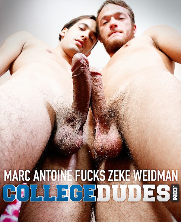 Marc Antoine Fucks Zeke Weidman at CollegeDudes.com