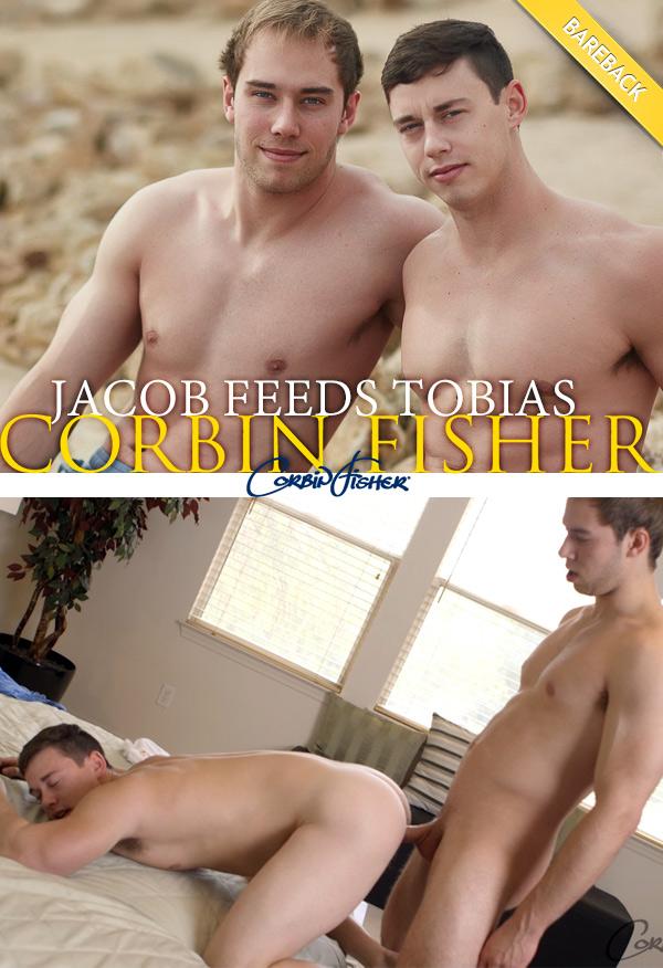 Jacob Feeds Tobias (Bareback) at CorbinFisher