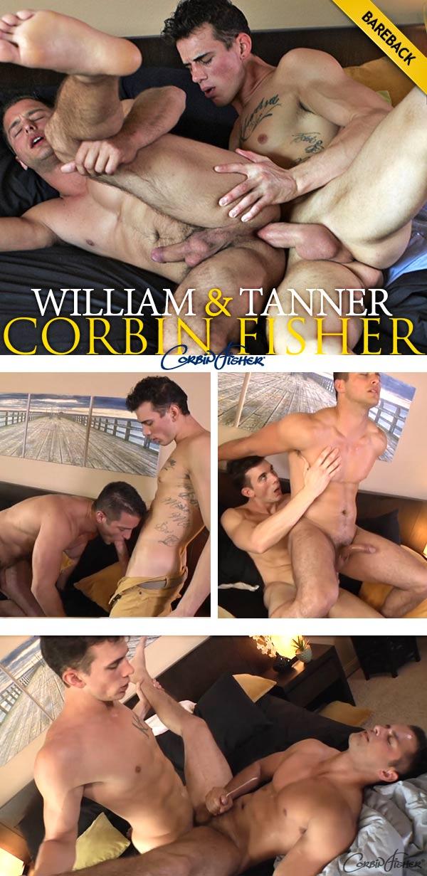 William Worships Tanner's Ass (Bareback) at CorbinFisher