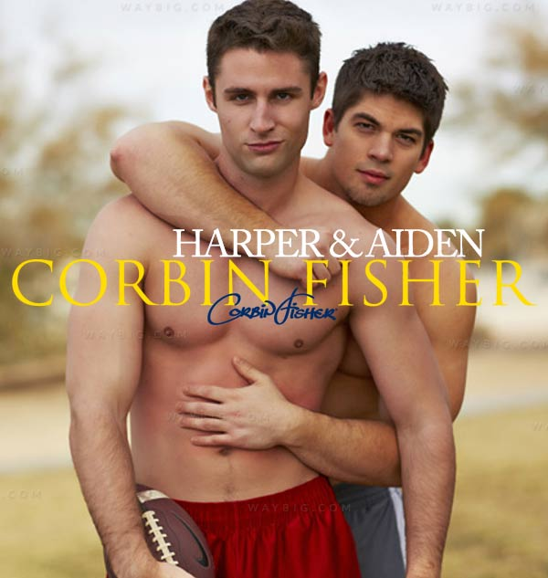 Harper & Aiden Fuck (Bareback) at CorbinFisher