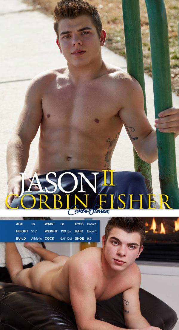 Jason (II) Unloads at CorbinFisher