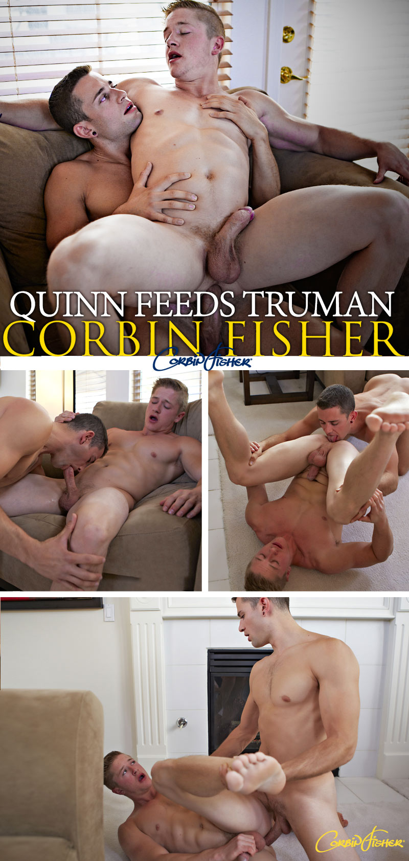 Quinn Feeds Truman (Bareback) at CorbinFisher
