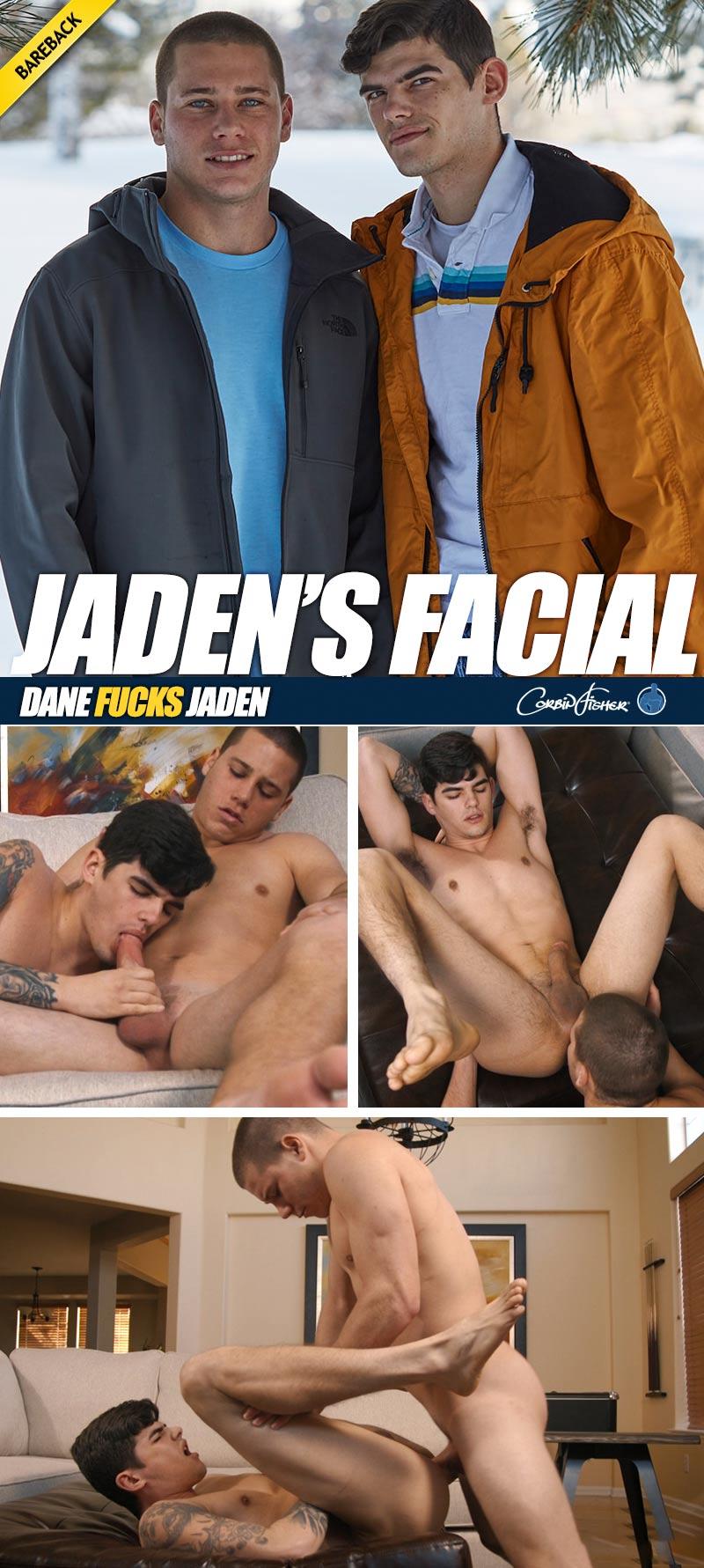 Jaden's Facial (Dane Fucks Jaden) (Bareback) at CorbinFisher