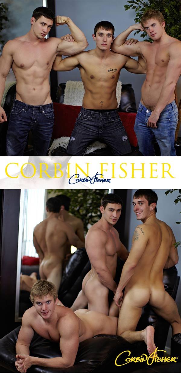 Kent & Cain Tag Mario (Tagging Mario) at CorbinFisher