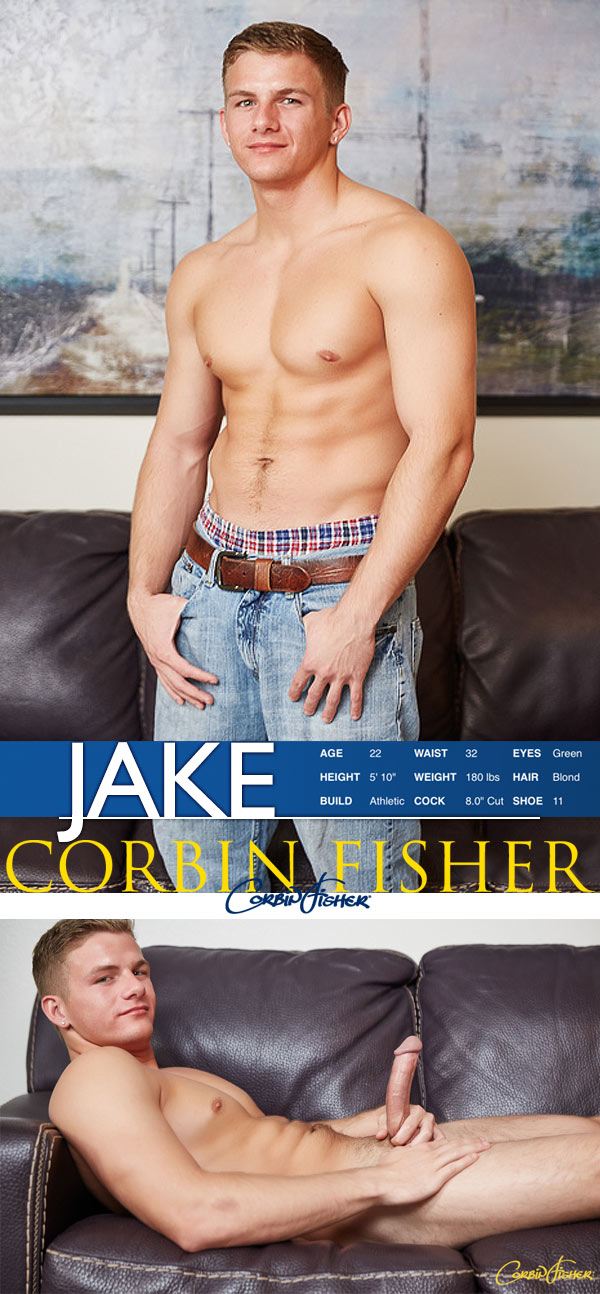 Jake Unloads at CorbinFisher