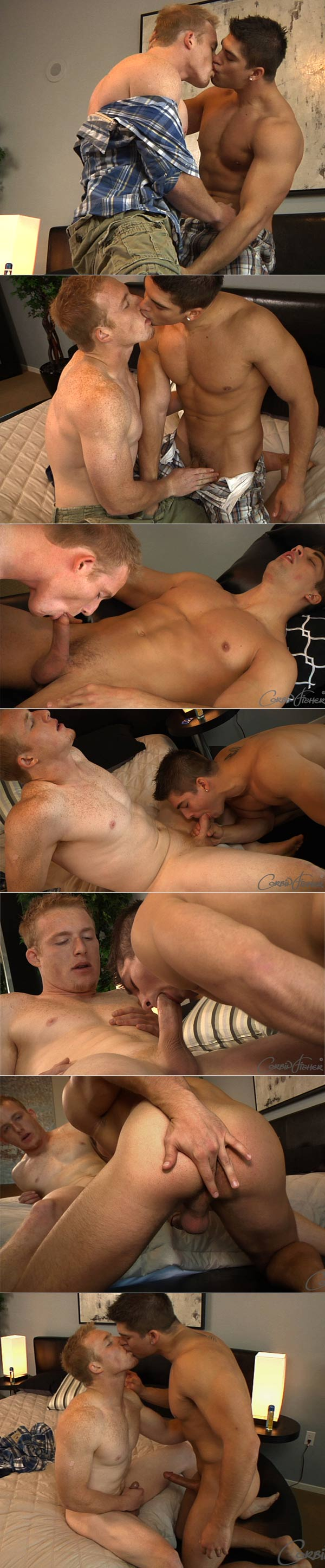 Aiden's Triple Load V at CorbinFisher