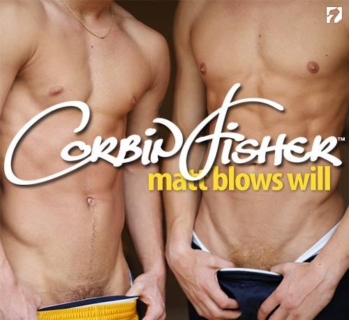Matt Blows Will at CorbinFisher
