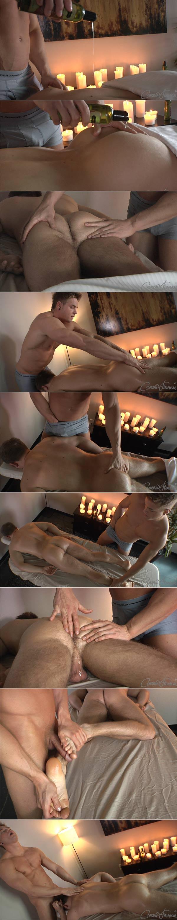 Massaging Cameron (Cameron & Connor) at CorbinFisher