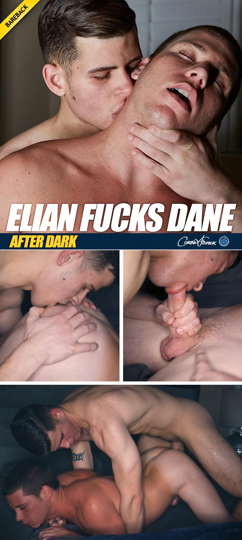 Elian Fucks Dane 'After Dark' (Bareback) at CorbinFisher