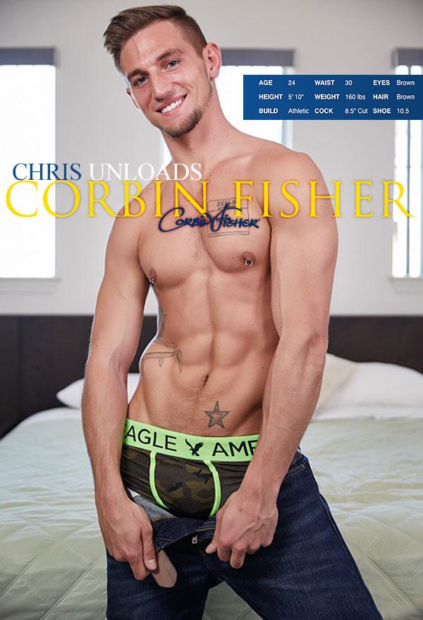 Chris Unloads at CorbinFisher
