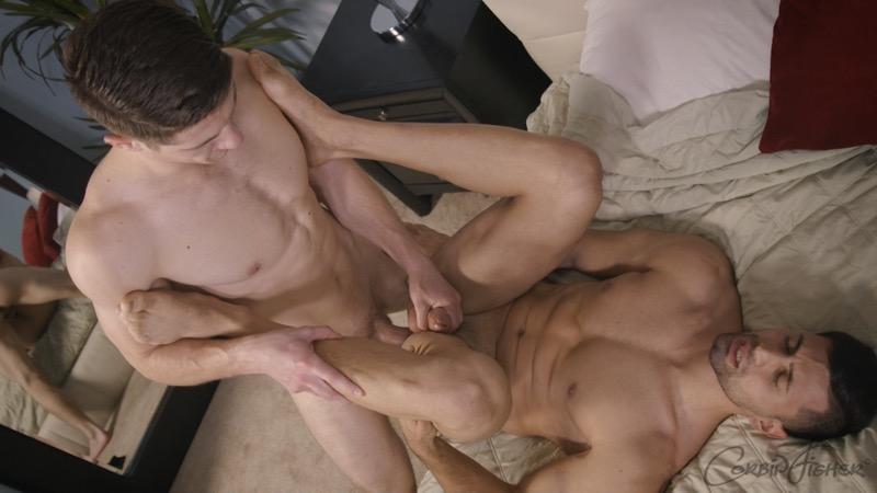 Nicholas Gets Fucked Bareback (by Calan) at CorbinFisher