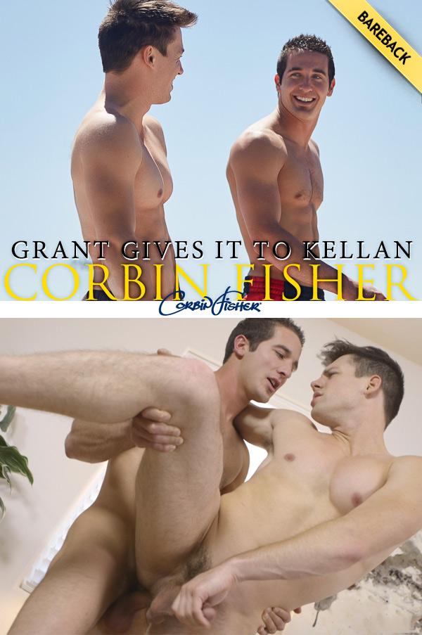 Grant Gives It To Kellan (Bareback) at CorbinFisher