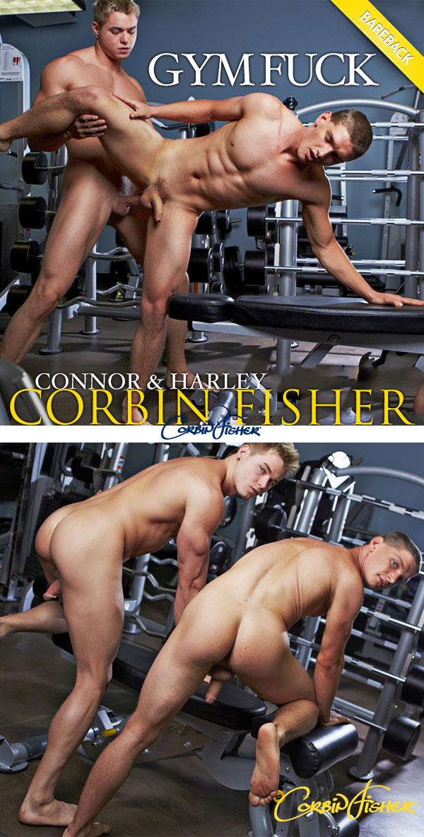 Connor & Harley's (Bareback Gym Fuck) at CorbinFisher