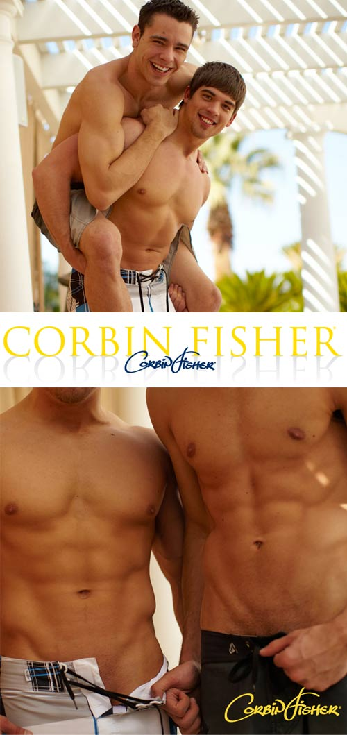 Trey & Aiden Get Wet at CorbinFisher