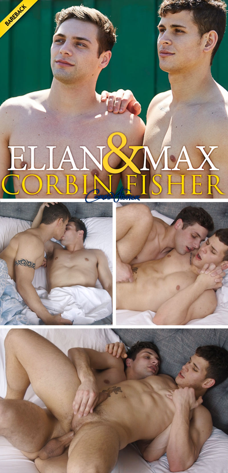 Elian Makes Max's Morning (Bareback) at CorbinFisher