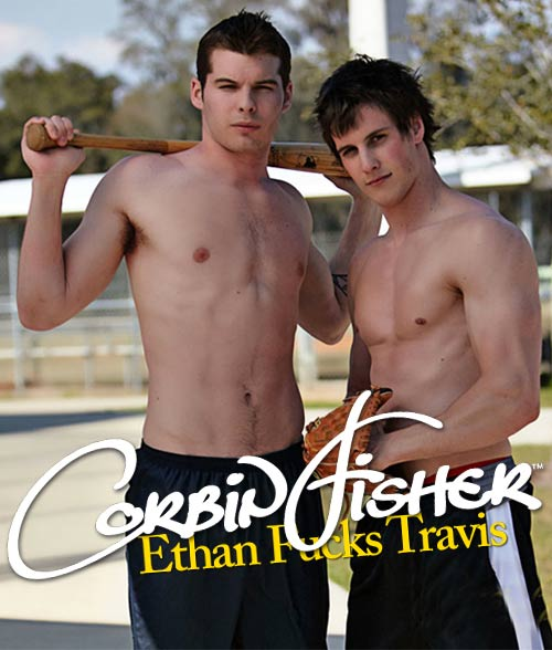 Ethan Fucks Travis (Ethan's First Time) at CorbinFisher
