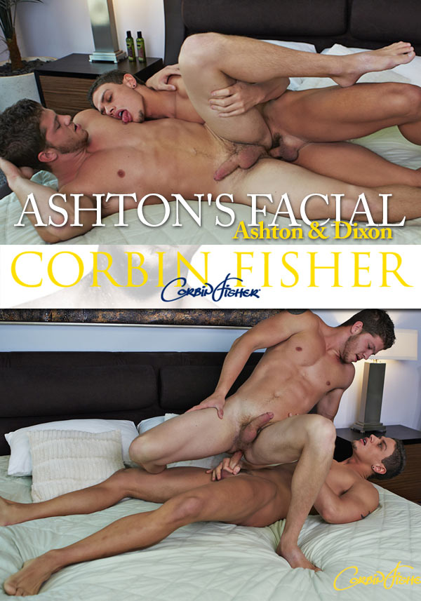 Ashton's Facial (Ashton & Dixon) (Bareback) at CorbinFisher