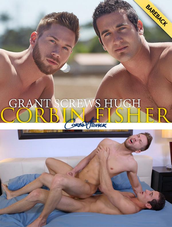 Grant Screws Hugh (Bareback) at CorbinFisher