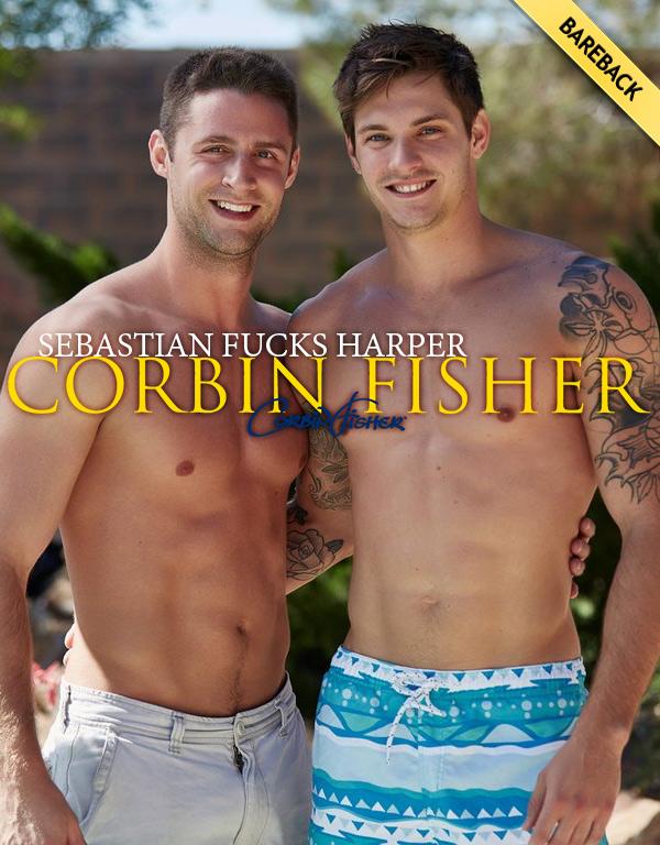 Sebastian's First Time (Sebastian Fucks Harper) (Bareback) at CorbinFisher