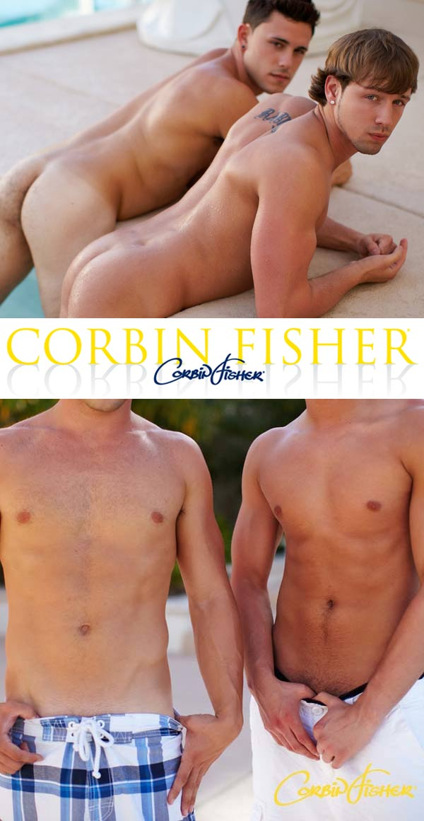 Rudy Catches For Sean at CorbinFisher