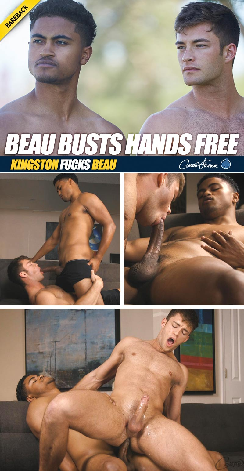 Kingston Fucks Beau (Bareback) at CorbinFisher