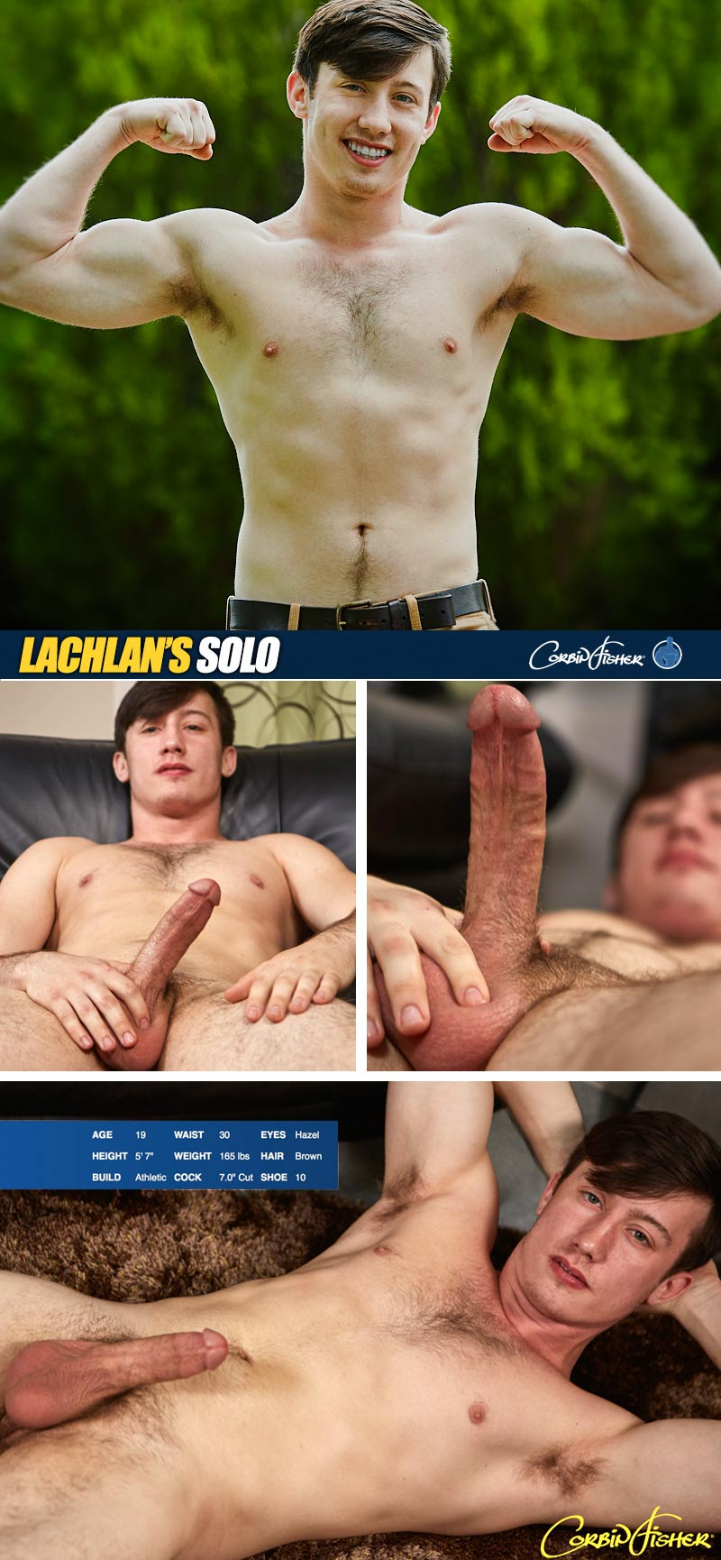 Lachlan (Introductory Solo) at CorbinFisher