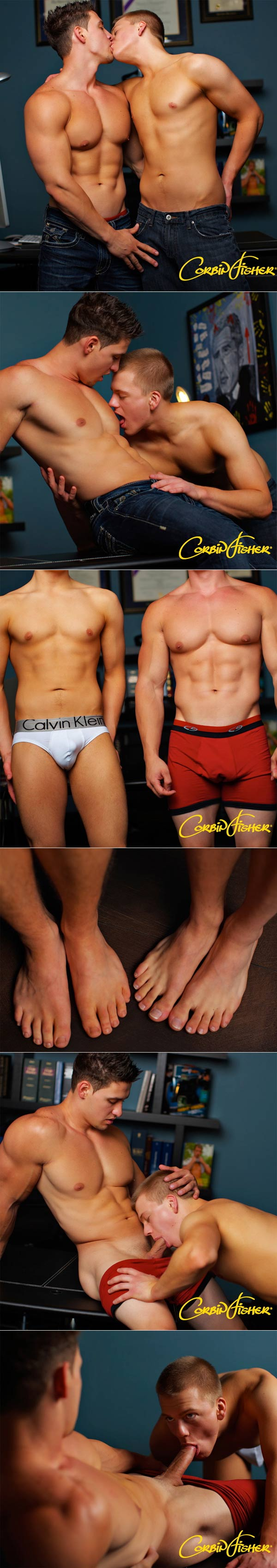 Avery & Cain (Breaking In Avery) at CorbinFisher